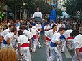 Festa Major de Gràcia 2011 - Bastoners de Barcelona - XIII cercavila de cultura popular - carrer Gran P1330069.jpg