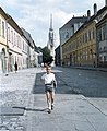 Fiú portré, 1963-ban a Fortuna utcán Fortepan 50812.jpg