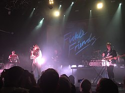 Fickle Friends at the O2 Academy, Kentish Town, October 2017.jpg
