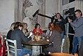 Filmaufnahmen Radio Bremen - Restaurant Grissini, Muenchen, Oktober 2007.jpg