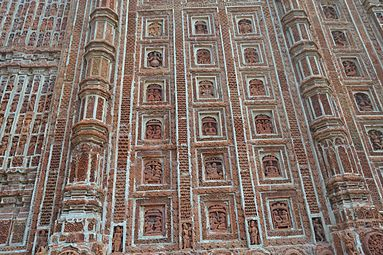 Finest artwork and terracotta of Kantanagar temple 04.jpg