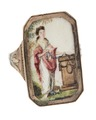 Fingerring av guld med miniatyrmålning i empirstil - Hallwylska museet - 110231.tif