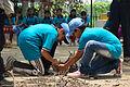 Fire-making - Survival Programme - Summer Camp - Nisana Foundation - Sibpur BE College Model High School - Howrah 2013-06-09 9687.JPG