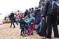 Flüchtlinge - Immigranten beim Grenzübergang Wegscheid (22493820144).jpg