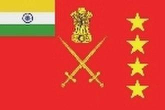 Pran Nath Thapar - Image: Flag COAS India