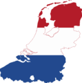 Flag map of the Dutch Language.png