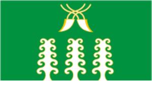 Sharansky District - Image: Flag of Sharan rayon (Bashkortostan)
