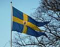Flaggan Haga slott 2012.jpg