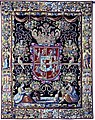 Flanders Tapestry with the coat of arms of Anna Catherine Constance Vasa.jpg