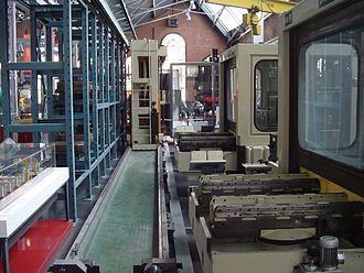 Flexible manufacturing system - A typical FMS.