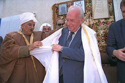 Flickr - Government Press Office (GPO) - PM Yitzhak Rabin during his visit to Beit Jann