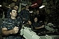 Flickr - Official U.S. Navy Imagery - Logistics Specialist Seaman Kevin Simpson helms the Ohio-class ballistic missile submarine USS Tennessee..jpg