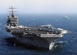 Flickr - Official U.S. Navy Imagery - USS Abraham Lincoln transits the Arabian Sea. (12).jpg