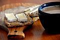 Flickr - cyclonebill - Bolle med brie og kaffe med mælk.jpg