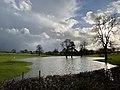 Floodwater near Disserth (geograph 6402785).jpg