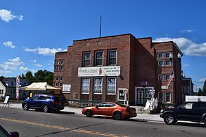 National Register of Historic Places listings in Florence County, Wisconsin - Image: Florence Town Hall, Florence, WI