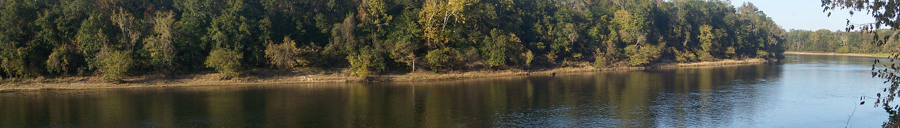 The Apalachicola River in Torreya State Park