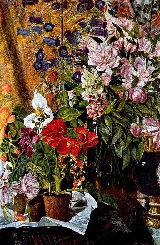 Flowers by A.Golovin (1912)