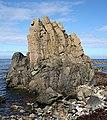 Folded Rocks - geograph.org.uk - 224051.jpg