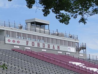 Coffey Field - Image: Fordham University stadium 2014