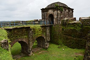 The current ruins of Fort San Lorenzo date from the 1750s.[1]