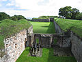 Fortifications, Berwick upon Tweed, a gun battery.jpg