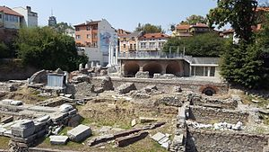 Odeon of Philippopolis - The Odeon and the Northern part of the Forum
