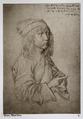 Fotografi föreställande självporträtt av Albrecht Dürer som trettonåring - Hallwylska museet - 103108.tif
