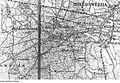 Fotothek df rp-c 0960067 Hoyerswerda-Bröthen-Michalken. Karte, 1-100.000.jpg