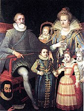 Henri IV, Marie de' Medici and family (Source: Wikimedia)