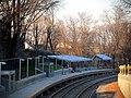 Four Corners Geneva outbound platform December 2012.JPG
