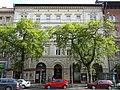 Frölich house (1889). Facade. - 35 Erzsébet Boulevard, Budapest.JPG