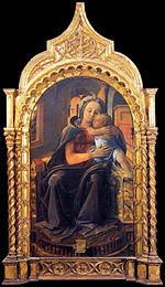 Fra Filippo Lippi - Madonna with Child (Tarquinia Madonna) - WGA13173.jpg