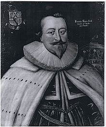 Francis Fane, first Earl of Westmorland, in coronation robes, 2 February 1625 or 26, (24 x 27 inches).jpg