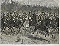 Frank Dadd - Company of the Victorian Mounted Rifles on manoeuvres in Victoria in 1889.jpg