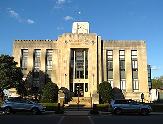 Franklin County Courthouse (Tennessee) - Image: Franklin County Courthouse Winchester tn 1