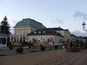 Kurhaus mit Casino Franzensbad