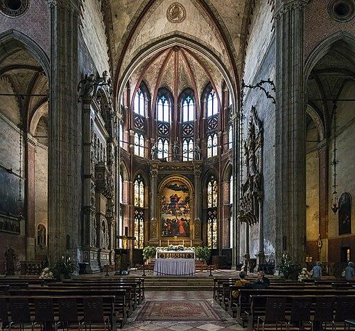 Frari (Venice) - Main altar