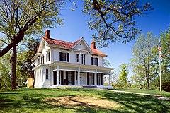 Douglass' house in Washington, D.C.