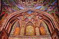 Fresco art of wazir kahn moque.JPG