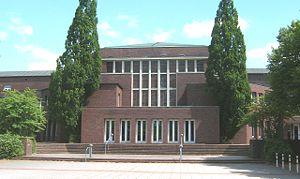 Friedrich-Ebert-Gymnasium - Image: Friedrich Ebert Halle Hamburg