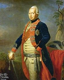 Friedrich Wilhelm als Thronfolger, um 1765 (Quelle: Wikimedia)