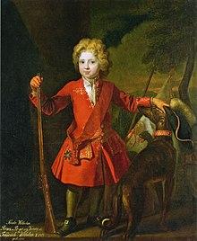 Friedrich Wilhelm als Kronprinz mit dem 1701 gestifteten Schwarzen Adlerorden (Porträt von Samuel Theodor Gericke) (Quelle: Wikimedia)