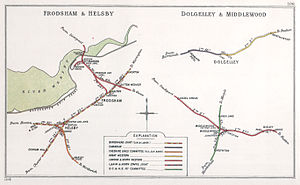 Chester and Birkenhead Railway - Image: Frodsham & Helsby Dolgelley & Middle Wood RJD 106