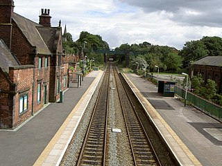 Frodsham railway station grade II listed train station in the United kingdom