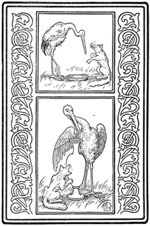 La Zorra Y La Cigüeña Wikipedia La Enciclopedia Libre