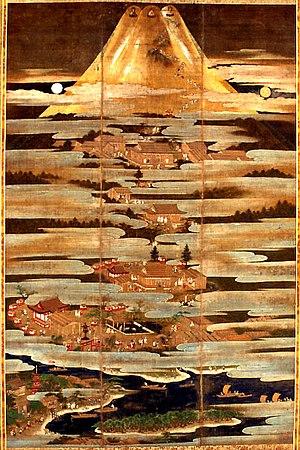 Asama shrine - Fuji Mandara from Fujisan Hongu Sengen Jinja