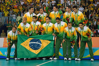 Lee Tschantret - Tschantret after winning the gold medal at the futsal competition at the 2007 Pan American Games