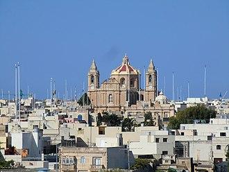 Għaxaq - Għaxaq skyline