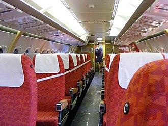Hawker Siddeley Trident - trident cabin
